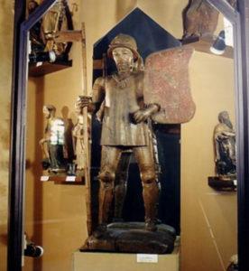 Statua lignea San Maurizio